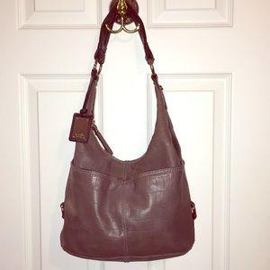 Tignanello leather hobo bag
